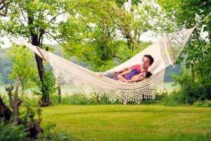 Hangmat met spreider Palacio Amazonas in de natuur