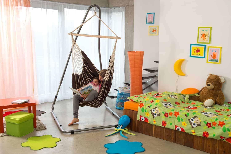 Design Hangstoel Binnen.Hangstoel Kader Luna Rockstone Amazonas Vanderstuyf