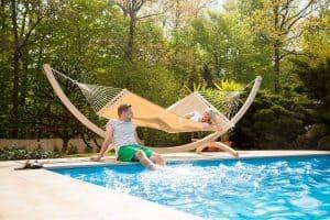 Houten staander Olymp arizonas zwembad tuin