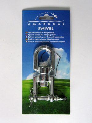 Rotatiehaak Hangmat Swivel Amazonas, voorkant verpakking