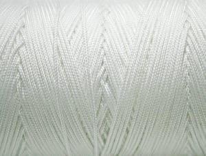 Gevlochten nylon touw wit detail Van der Stuyf