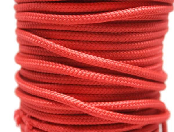 Gevlochten polypropyleen rood, Van der Stuyf
