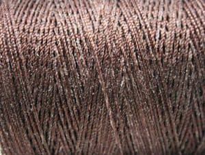 Nylon kabel bruin detail, Van der Stuyf