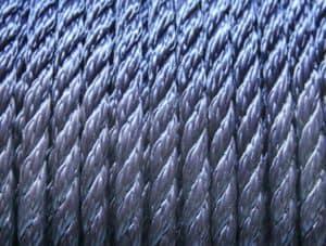 Polypropyleen multifilament touw blauw, Van der Stuyf