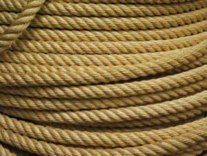 Sisal krabpaal touw, Van der Stuyf