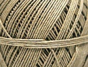 Vlasficelle inpakkoord detail Van der Stuyf