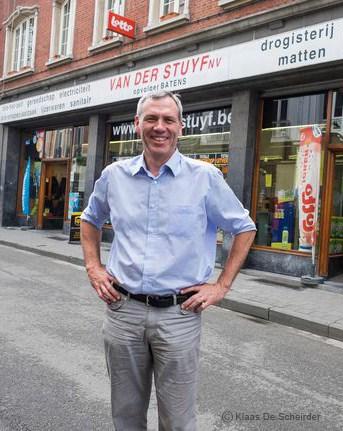 Wim Batens, zaakvoerder Vanderstuyf webshop