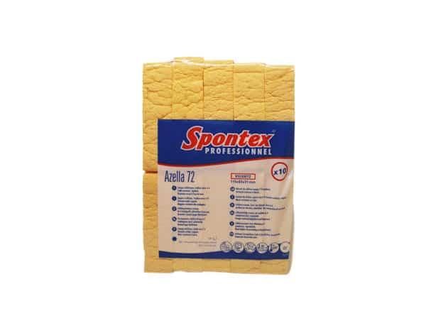 Droge viscose spons - 10 stuks Spontex, Van der Stuyf