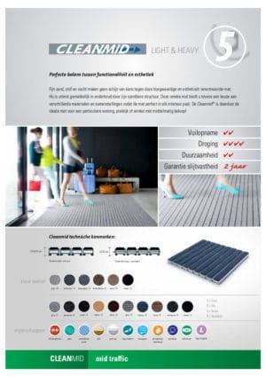 Cleanmid C-MIX Scrub inkommat Verimpex, Van der Stuyf-infofiche
