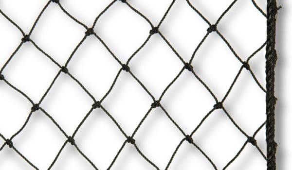 Geknoopte volièrenetten met ruitvormige mazen, Van der Stuyf