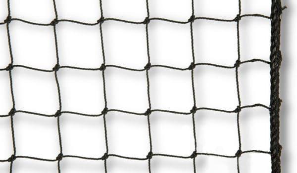 Geknoopte volièrenetten met vierkante mazen, Van der Stuyf