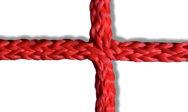 Knooploze netten rood, Van der Stuyf