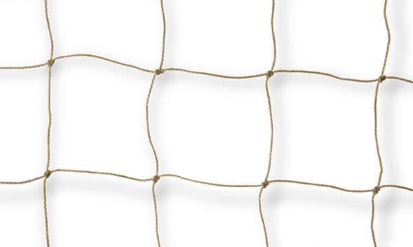 Vogelweringsnet, beige steenkleur 0,9mm, 50mm Van der Stuyf
