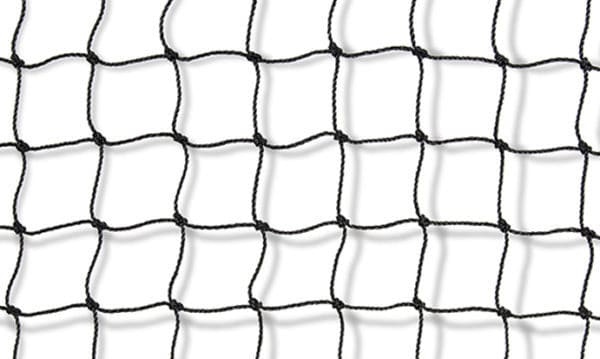Vogelweringsnetten zwart 0,9mm, 28mm, Van der Stuyf